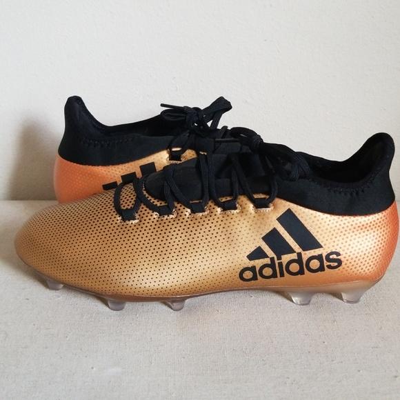 9af6e839c adidas Shoes | Mens X 172 Soccer Cleats Gold 105 | Poshmark